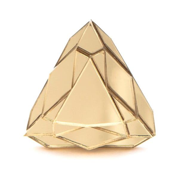 Prsteň Baguera Vectory Trilliant Gold, 1.7 cm