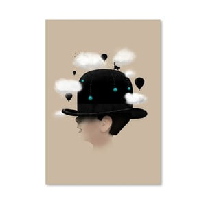 Plagát Dreaming od Florenta Bodart, 30x42 cm