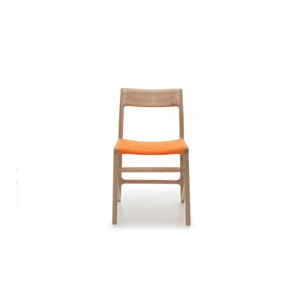 Stolička Fawn White Pigment Gazzda, oranžová