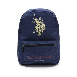 Tmavomodrý pánsky batoh U.S. Polo Sport, 30 × 44 cm