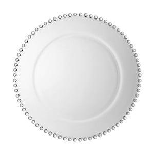 Sklenený tanier Côté Table Pearloa, ⌀ 33 cm