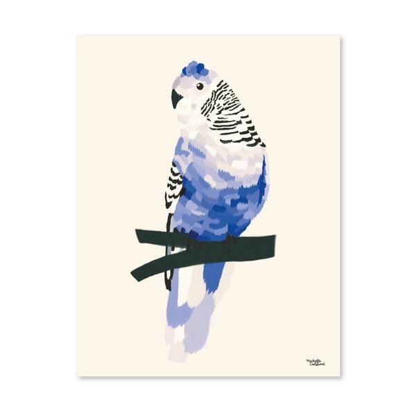 Plagát Michelle Carlslund Blue Bird, 50x70cm
