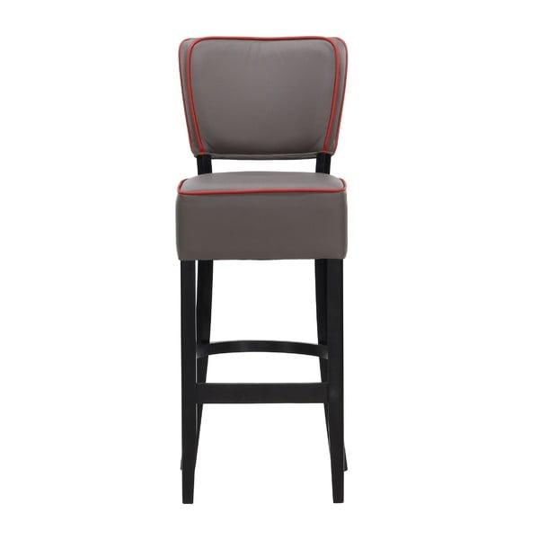 Barová stolička Luie Soft Grey