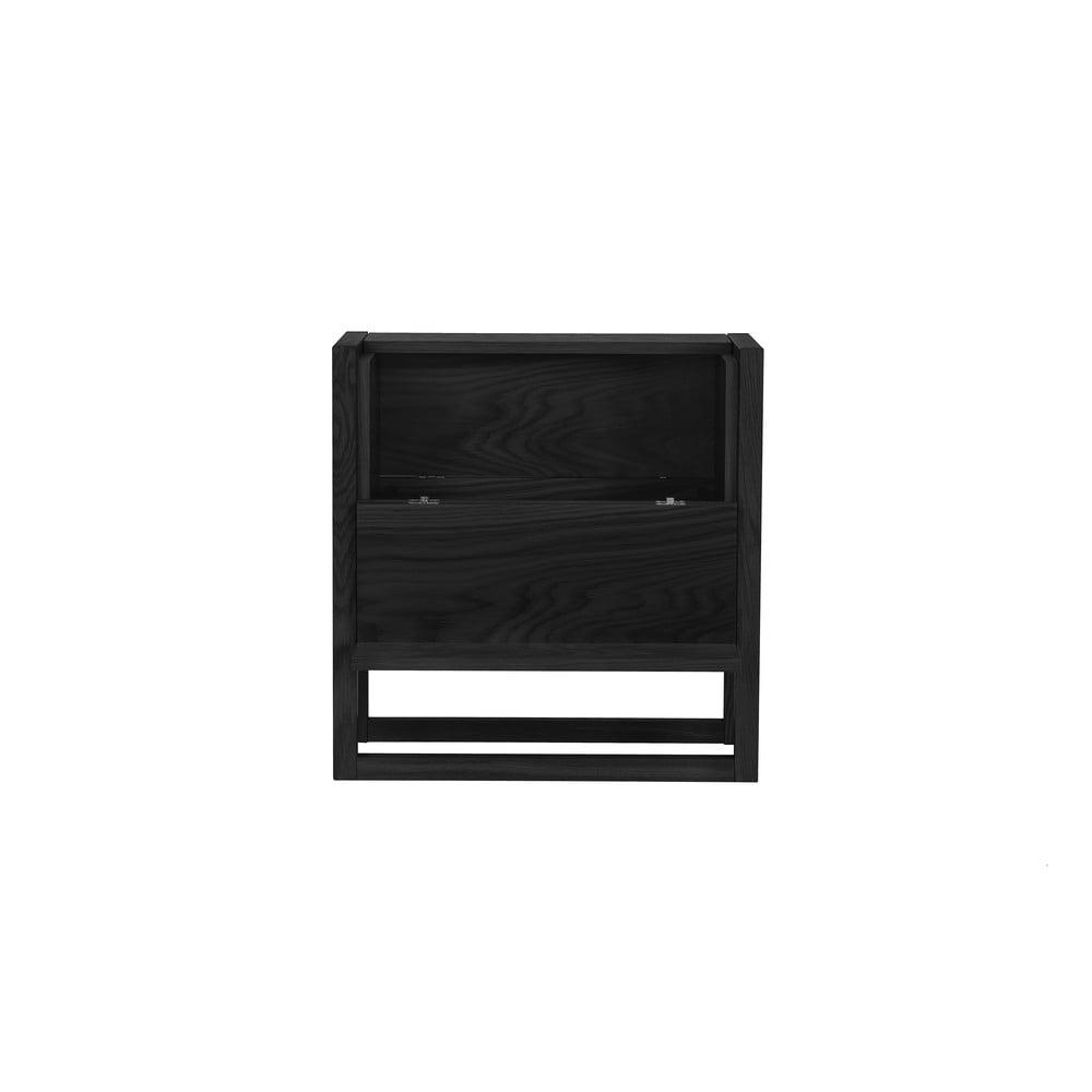 Čierny barový stolík Woodman NewEst