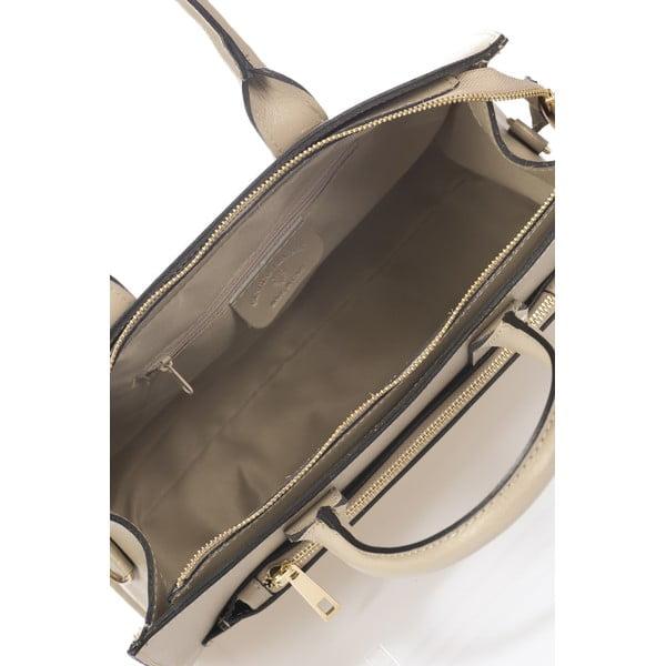 Kožená kabelka Iver, taupe