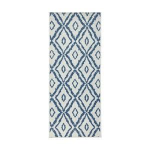 Modro-biely obojstranný koberec Bougari Rio, 80 x 150 cm