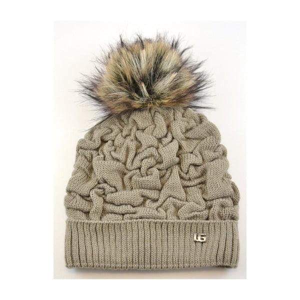 Dámska čapica Kora, béžová