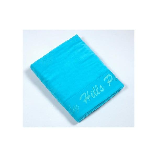 Bavlnená osuška BHPC Velvet 80x150 cm, tyrkysová