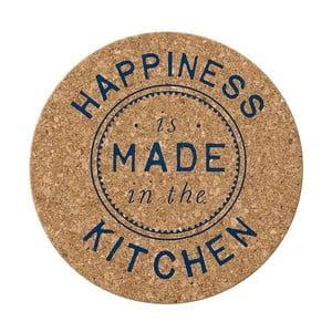 Korková podložka pod horúce nádoby Ladelle Kitchen Text