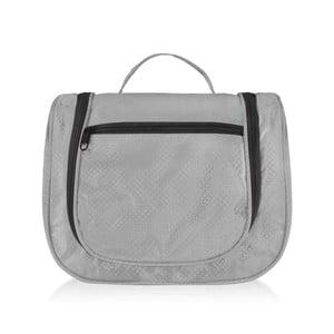 Sivá kozmetická taška PotironParis Trousse