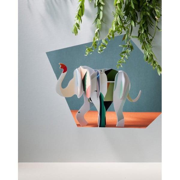 3D skladačka Totem Elephant