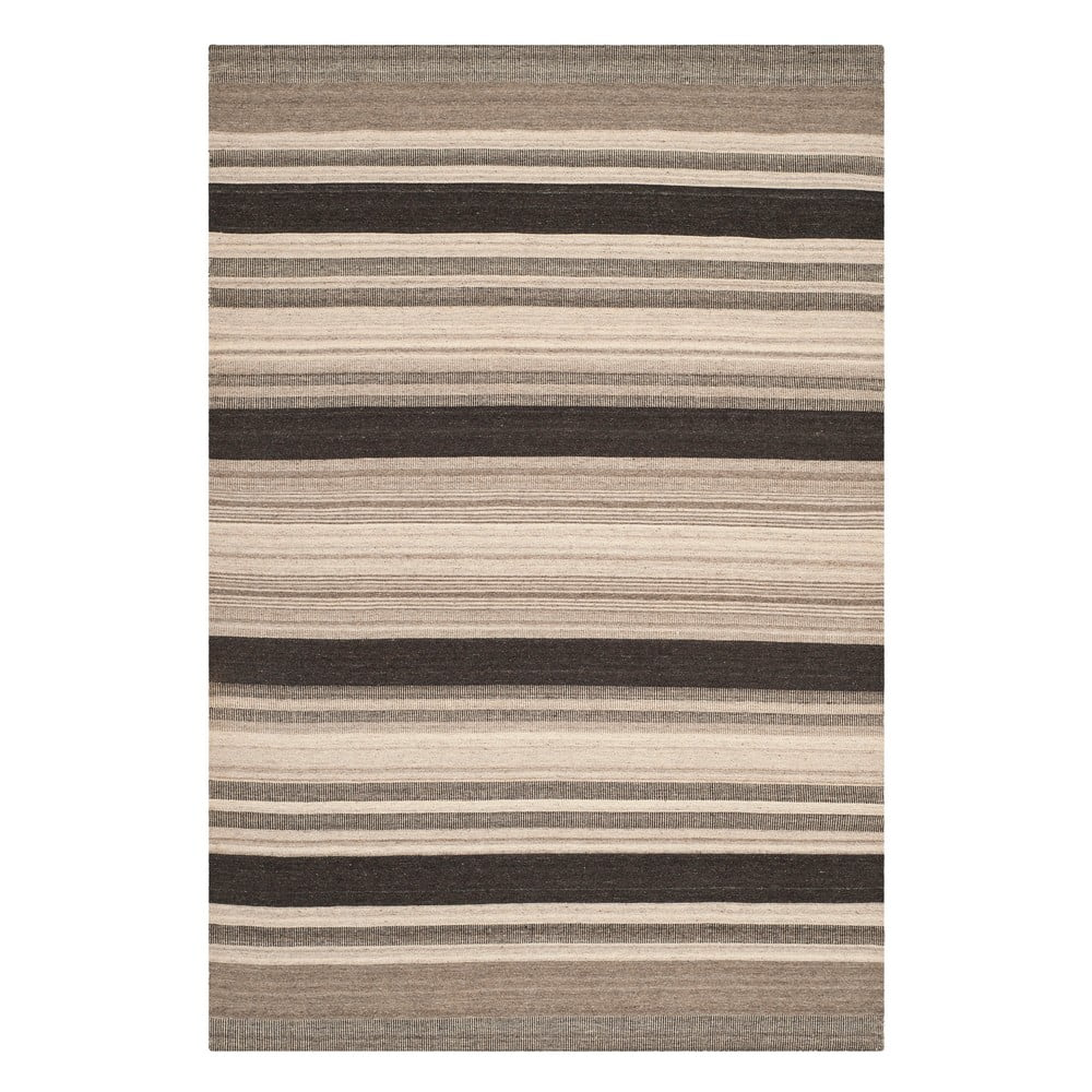 Vlnený koberec Safavieh Nico, 152x243 cm, hnedý
