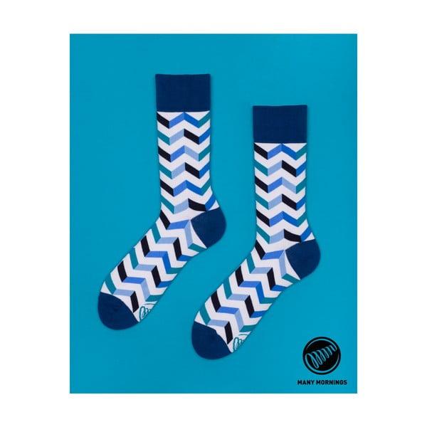 Ponožky Many Mornings Zig Zag Frosty, veľ.43/46