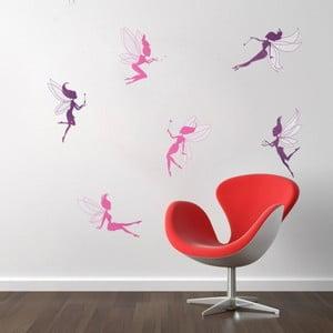 Sada 6 samolepiek Fanastick Fairy