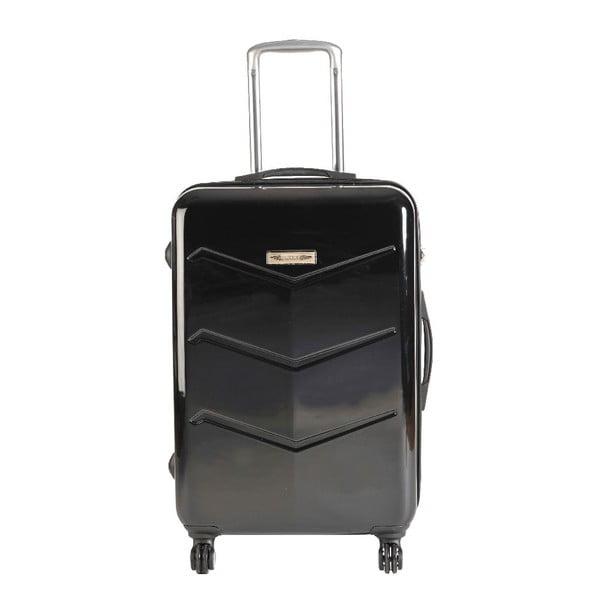 Set 3 cestovných kufrov Majestik Black