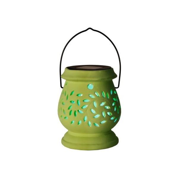 Vonkajší LED lampáš Clay Green