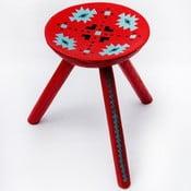 Ručne maľovaná stolička Sadova, 38 cm