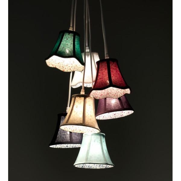 Závesné svietidlo so 7 káblami Tomasucci Bells