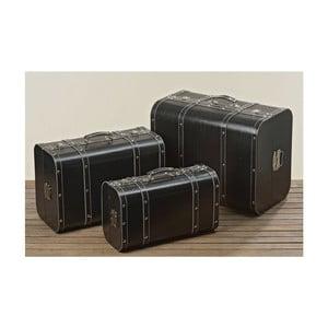Sada 3 dekoratívnych kufrov Amelie