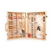 Drevený box s náradím pre malých kutilov Legler