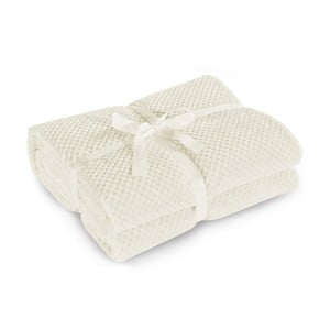 Béžová deka z mikrovlákna DecoKing Henry, 170×210cm