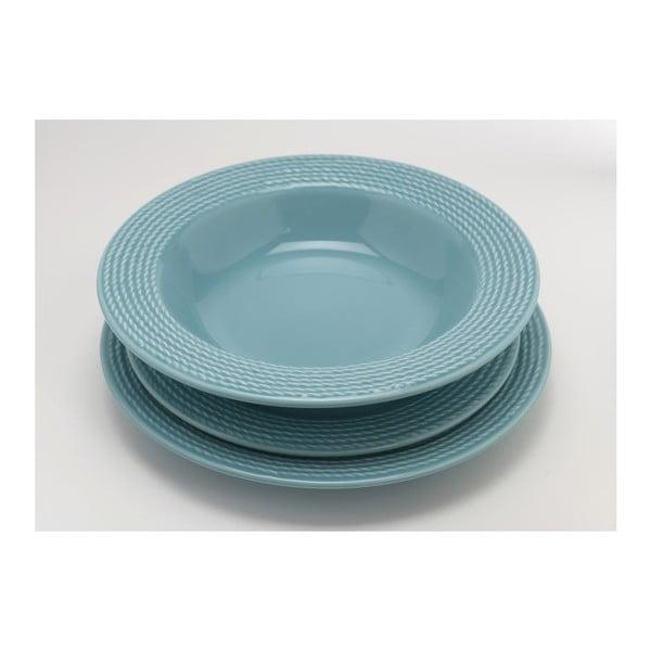 Hlboký tanier Turquoise 23 cm (6 ks)