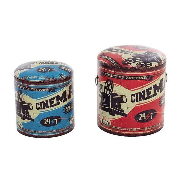 Sada 2 boxov/stoličiek Cinema