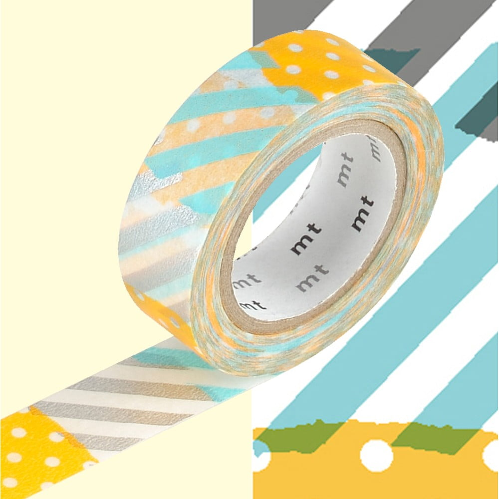 Washi páska MT Masking Tape Diane, návin 10 m