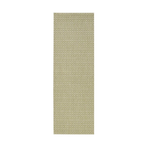 Koberec vhodný do exteriéru Meadow 80x200 cm, zelený