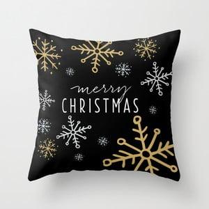 Obliečka na vankúš Merry Christmas, 45x45 cm