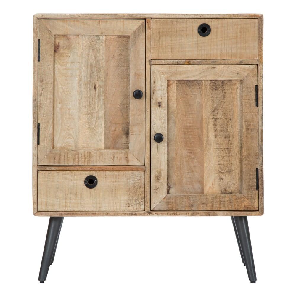 Skrinka z mangového dreva Mauro Ferretti Belgrado, šírka 75 cm