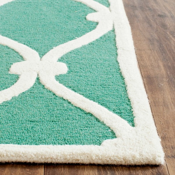 Vlnený koberec Hugo, 91x152 cm