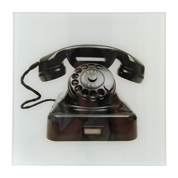 Obraz Clayre & Eef Telephone, 31x30 cm