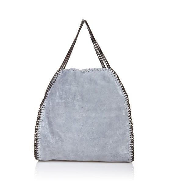 Kožená kabelka Markese 126 Grey