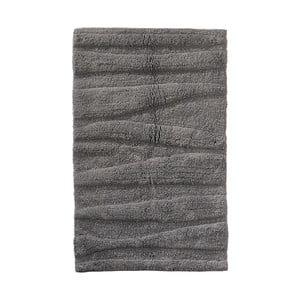 Sivá kúpeľňová predložka Zone Flow, 50 x 80 cm