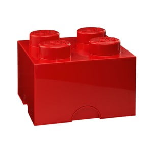 Červená úložná kocka LEGO®