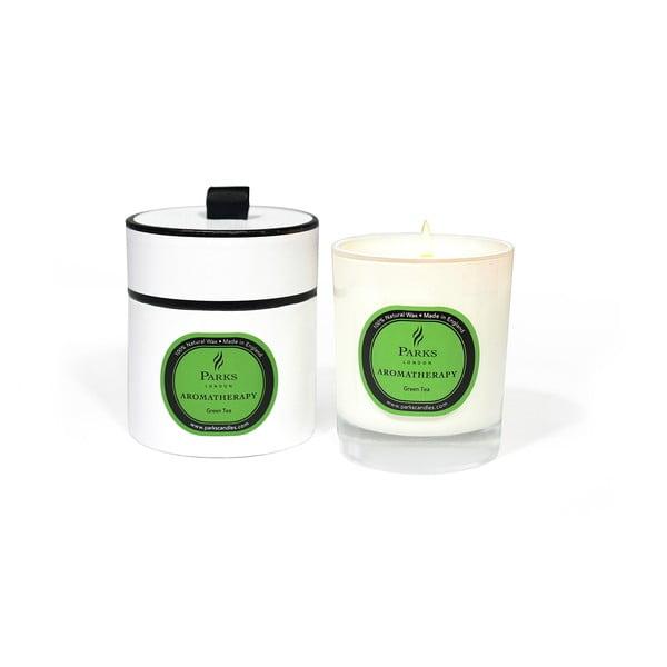 Sviečka s vôňou zeleného čaju Parks Candles London, 45hodín horenia
