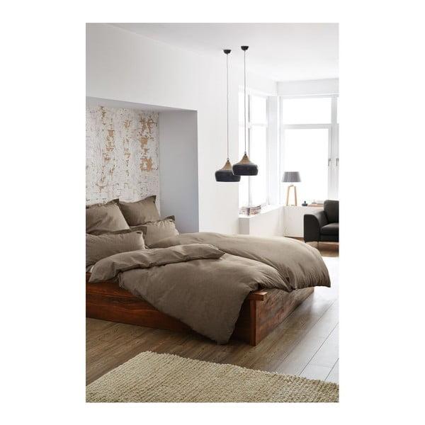 Obliečky Chamray Brown, 140x200 cm