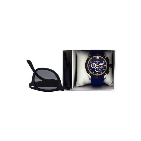Set slnečných okuliarov a pánskych hodiniek Tornado SP5013-5