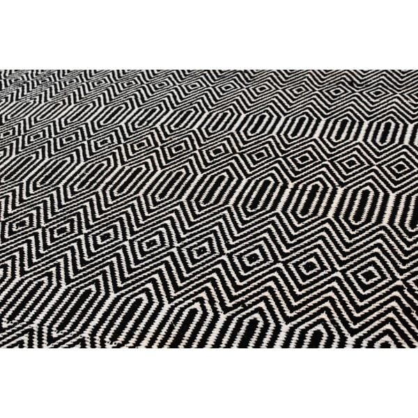 Koberec Sloan Black, 100x150 cm