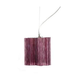 Závesné svietidlo Ferro Cristal Purple Single