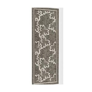 Sivohnedý vysokoodolný kuchynský behúň Webtappeti Maple Fango, 55 x 140 cm