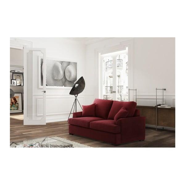 Červená dvojmiestna pohovka Jalouse Maison Irina