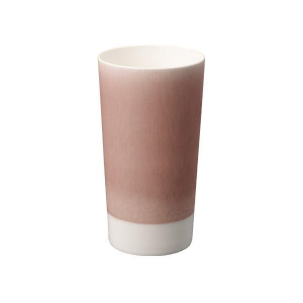 Fialový porcelánový pohár na pivo Kinto Tumbler
