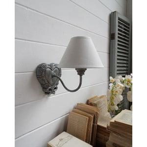 Nástenná lampa Silver Antique