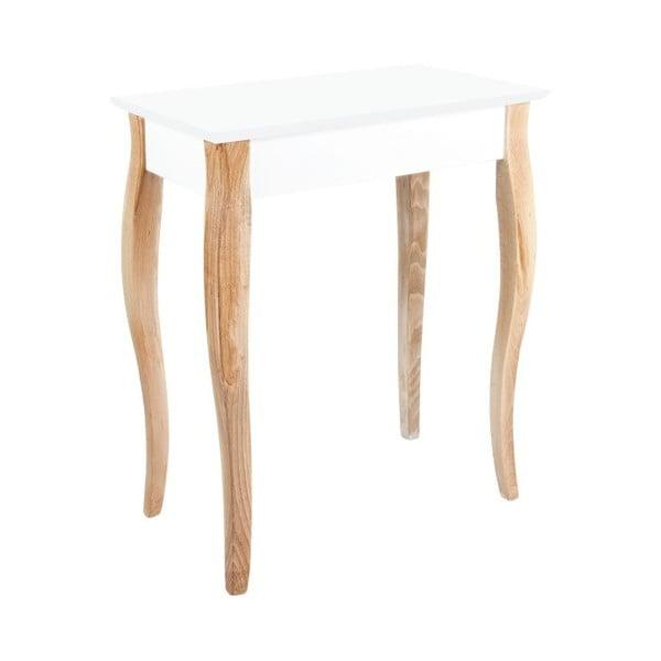 Biely konzolový stolík Ragaba Dressing Table, 65x74cm