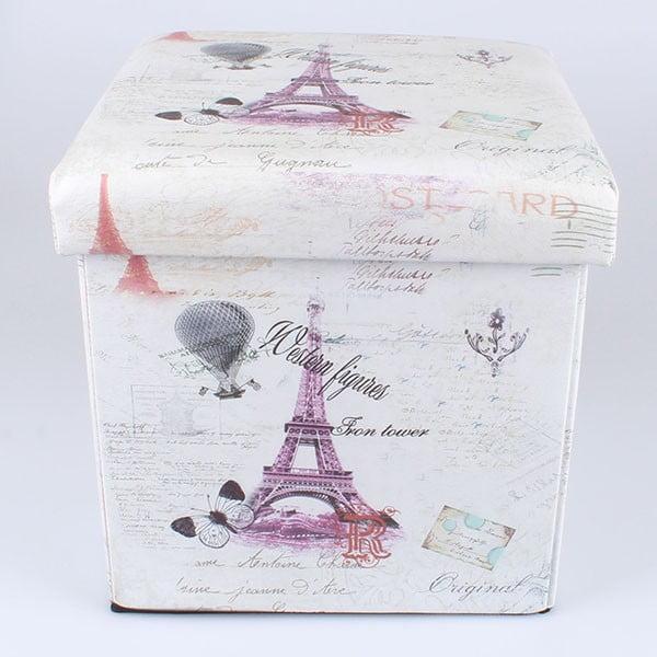 Taburetka na sedenie s úložným priestorom Paris