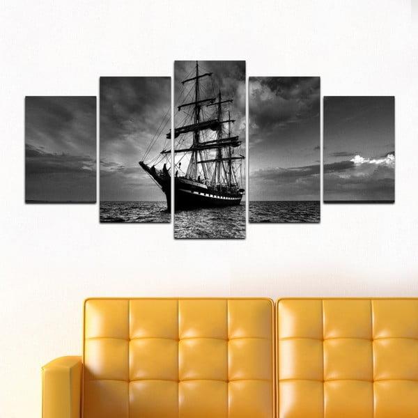 Viacdielny obraz Black&White no. 34, 100x50 cm