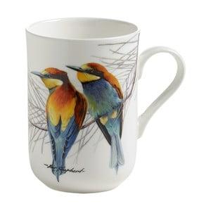 Hrnček z kostného porcelánu Maxwell & Williams Birds Eaters, 330 ml