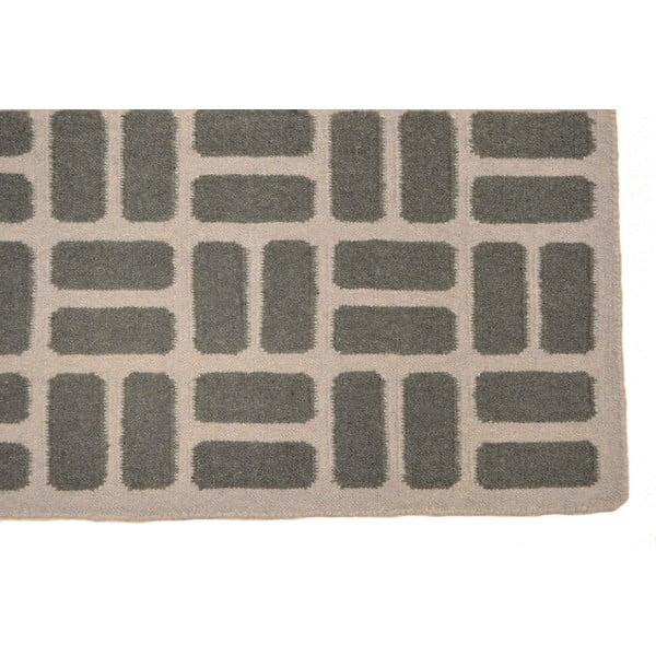 Vlnený koberec Kilim Modern 89, 120x180